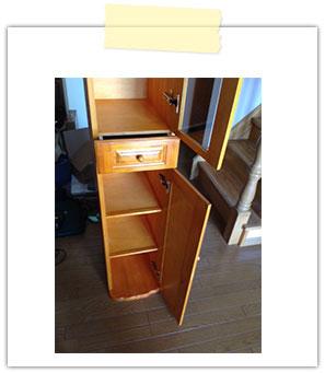 自作キッチンカウンター